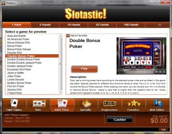 slotastic casino lobby