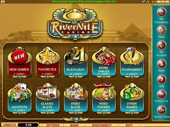 bonus casino deposit nile no river