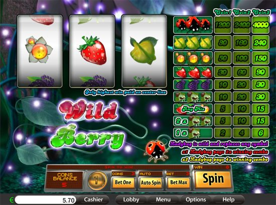 wild berry reels slot