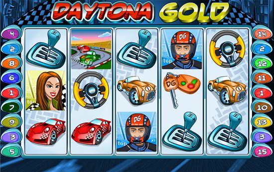 daytona gold slot